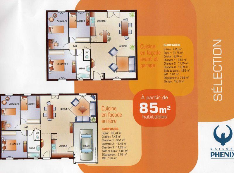 Modele maison phenix la maisons phenix plan cot plan de maison welcome plainpied 2 ch - Plan maison phenix ...